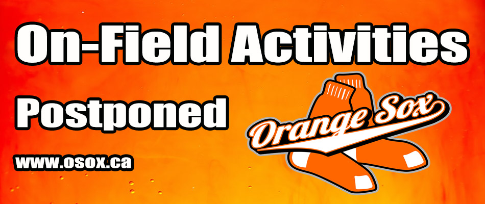 ON FIELD ACTIVITIES SUSPENDED